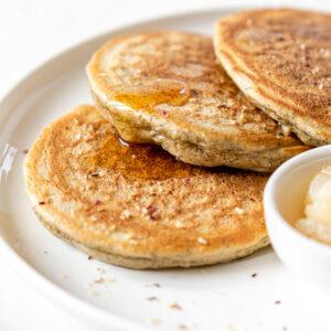 Pancakes à la poudre de noisettes